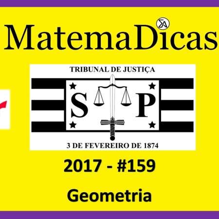 Geometria TJSP Capital Vunesp 2017 tribunal de justiça de são paulo concurso