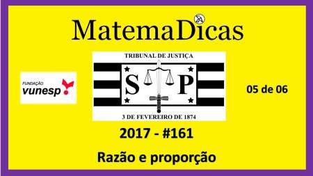 razão e proporção vunesp 2018 resolução de exercícios e questões de provas concursos e vestibulares tribunal de justiça