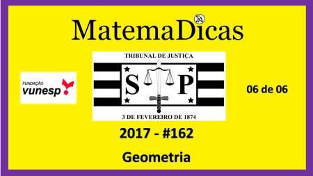 geometria vunesp 2018 resolução de exercícios e questões de provas concursos e vestibulares tribunal de justiça