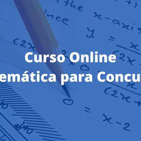curso online de matemática para concursos