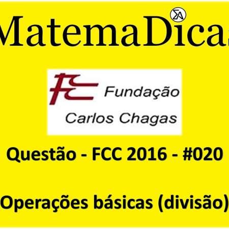 exercícios e questões de regras de sinais operações básicas e ordem das operações para concursos públicos prova da fcc 2016
