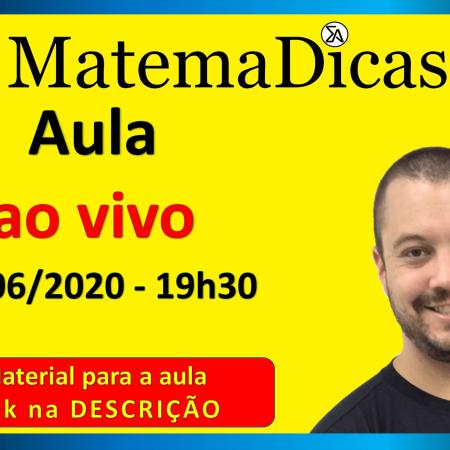 Aula Ao Vivo 23/06/2020