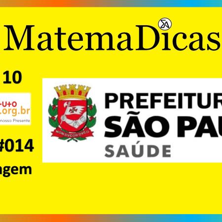 Porcentagem (09 de 10) – Prefeitura de São Paulo – Instituto Mais (2017) – #014 – Matemática
