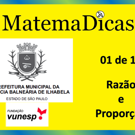 Geometria (01 de 10) – Prefeitura Ilhabela – Vunesp 2020 – #0326 – Matemática