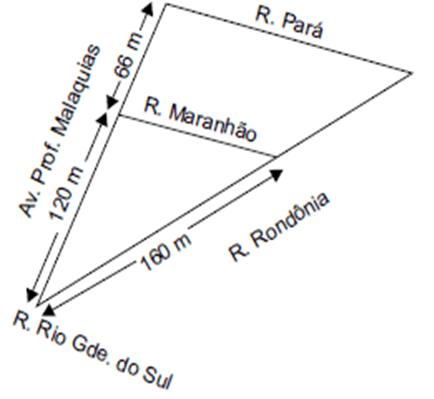 Geometria (10 de 10) – Prefeitura Ilhabela – Vunesp 2020 – #0335 – Matemática