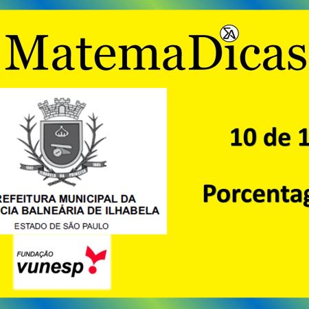 Geometria - Teorema de Tales - (10 de 10) – Prefeitura Ilhabela – Vunesp 2020 – #0335 – Matemática
